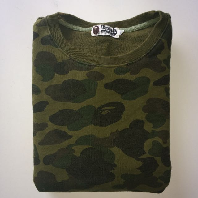 BAPE Windstopper Pullover