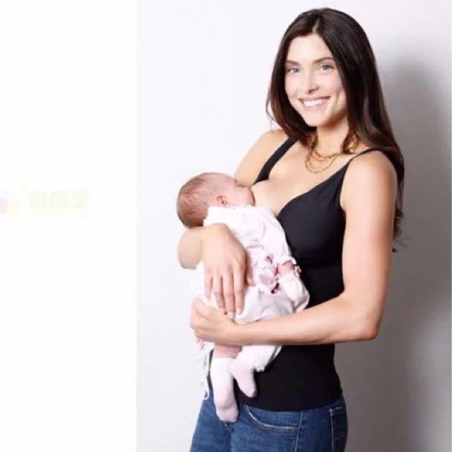 6f8c1dc2e4d Belly Bandit Mother Tucker Nursing Tank Black [M], Babies & Kids, Nursing &  Feeding on Carousell