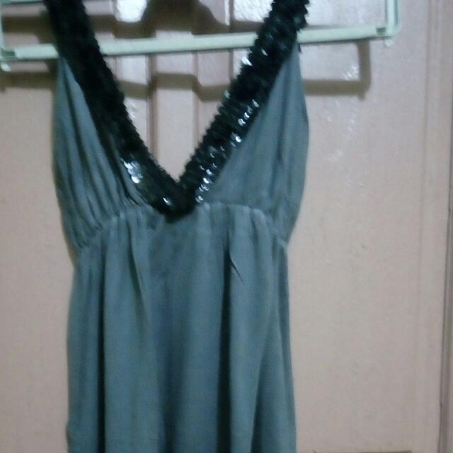 black grey manik2 dress