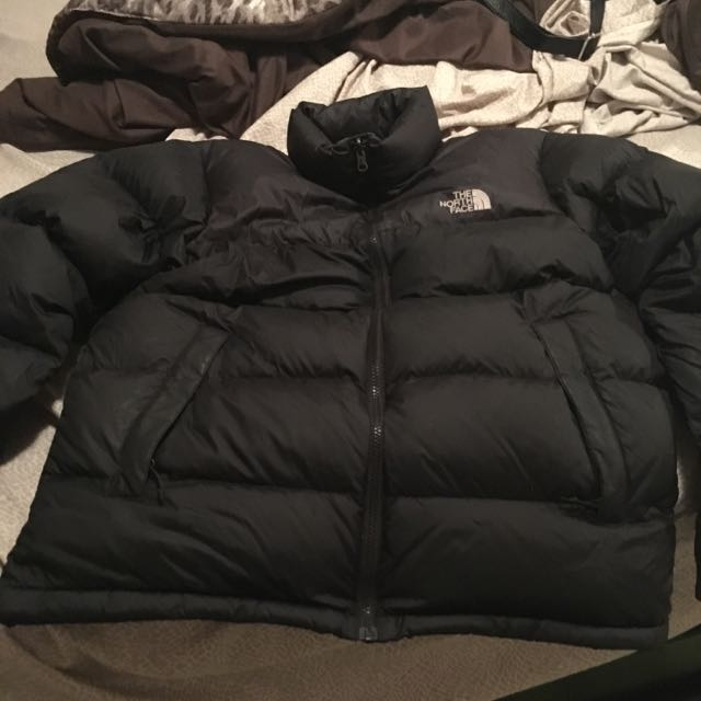 Black North Face Winter Coat