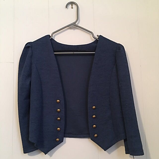 Blue Blazer Jacket