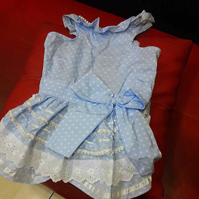 Dress Guguk (Blue Coral Size XXL)