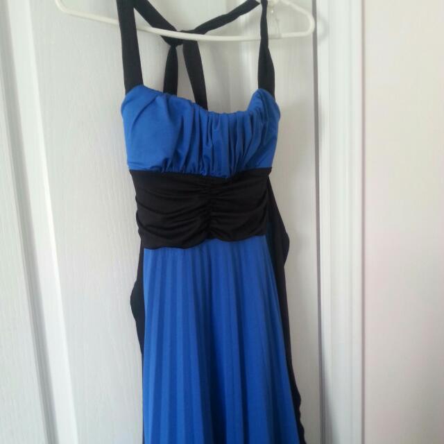 Brand New Semi Formal Blue Dress