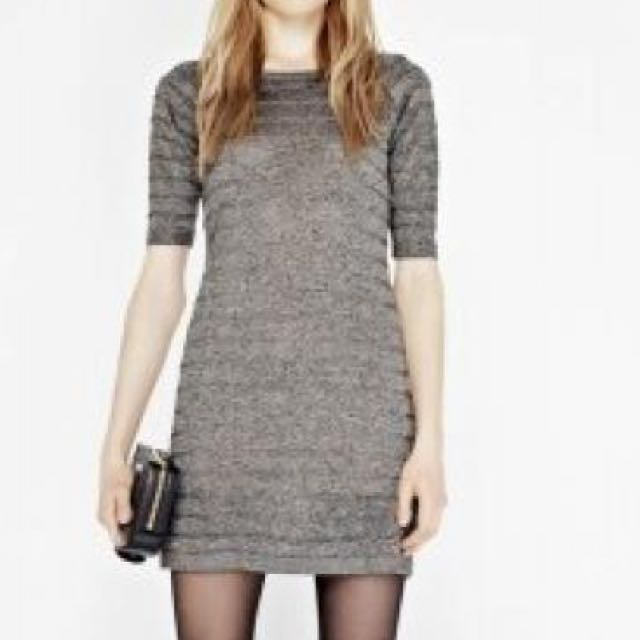 Camilla And Marc Lacewing Metallic Dress, Size 10