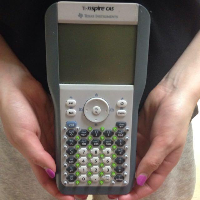 CAS calculator Ti-nspire