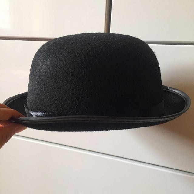 ffd8965f08f4f Charlie Chaplin Bowler Hat on Carousell
