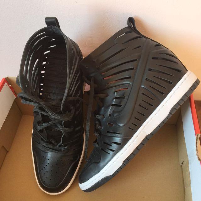buy online e8746 65960  RESERVED BY FLOR1234  NIKE DUNK SKY HI JOLI 725062-001 BLACK   WHITE    BLACK, Women s Fashion, Shoes on Carousell