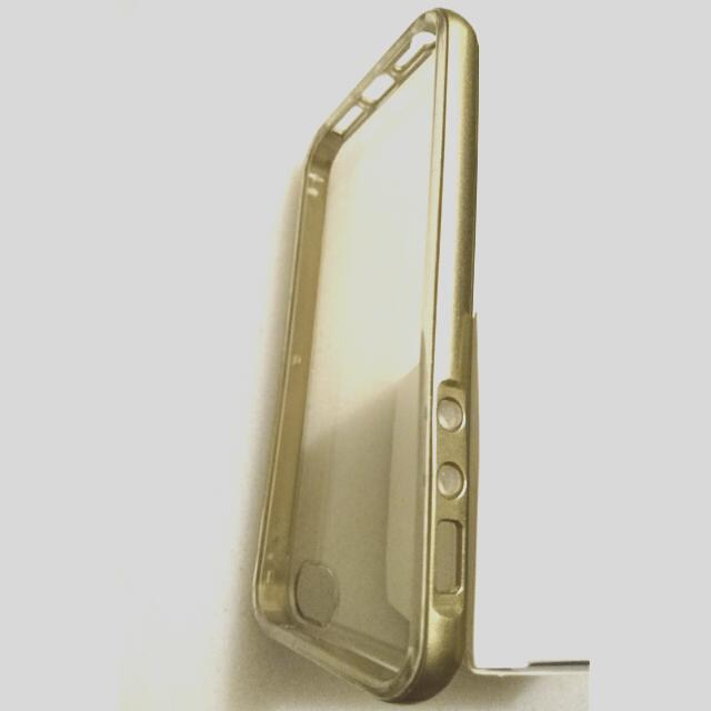Clear Gold IPhone 5 Case