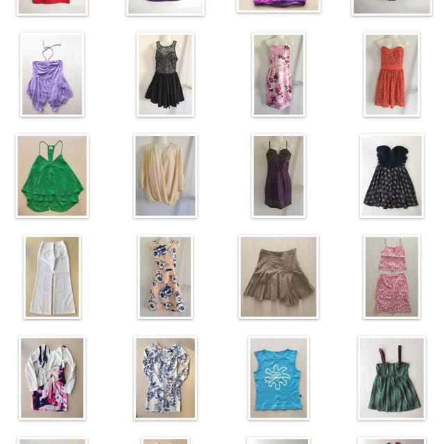 Clothes Size 8 Glamazon Blossom Rise Of Dawn Etc