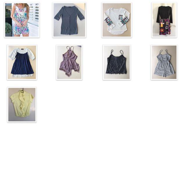 Clothes Size L Sportsgirl Etc