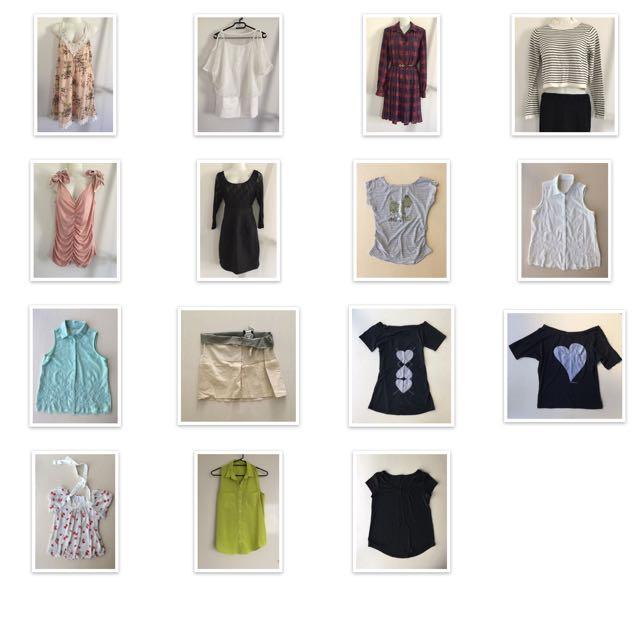 Clothes size M