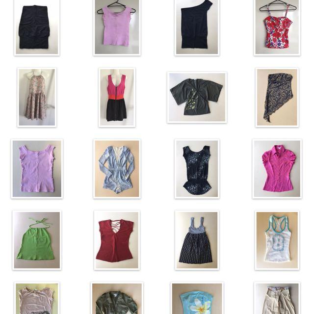 Clothes Size XS Supre Dotti Sportsgirl Tigermist Etc