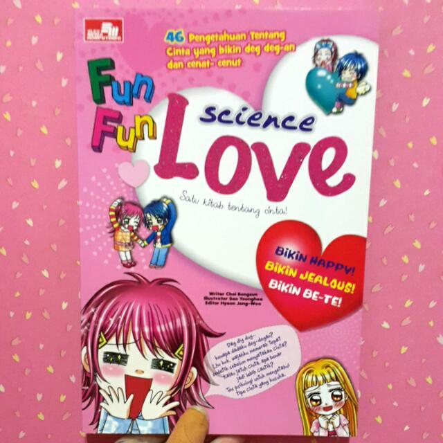 """Comic """"Fun Fun Science Love"""""""