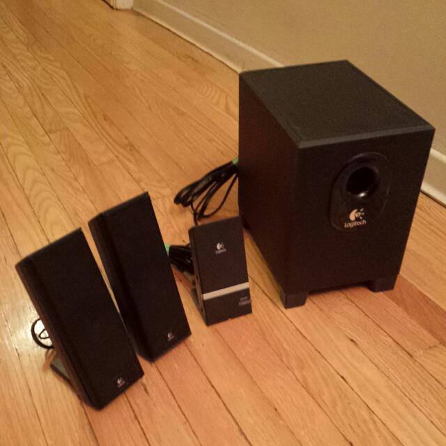 Computer/iPod Speakers & Subwoofer