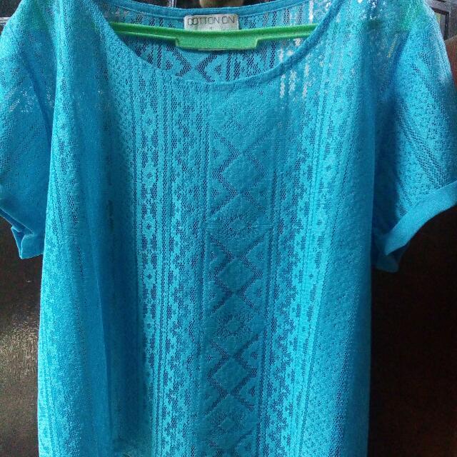 COTTON ON BLUE CLOTHES
