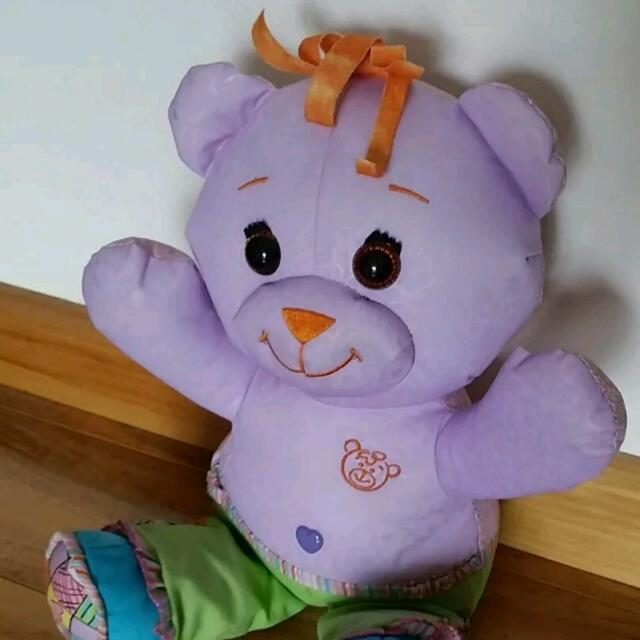 Doodle Bear Vintage 90s Toy Plush