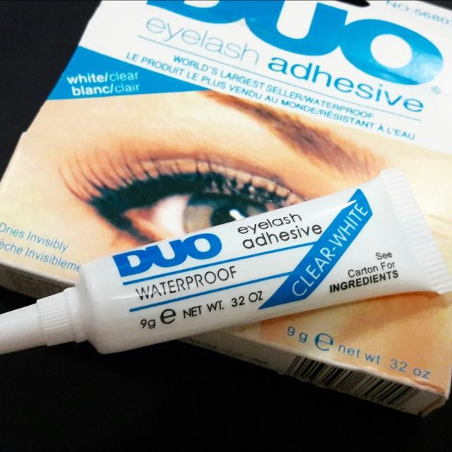 Duo Waterproof Eyelashes Gum Health Beauty Makeup On Carousell