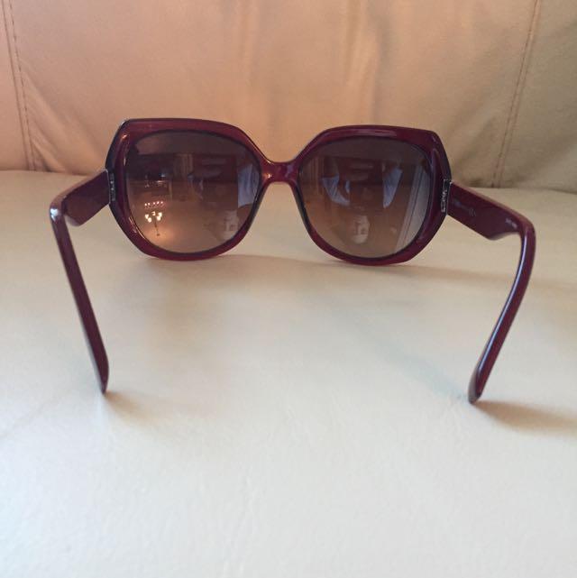 Sun GlassesFf0047/s 100% Authentic FENDI Women's Sunglasses Burgundy Mkgd8