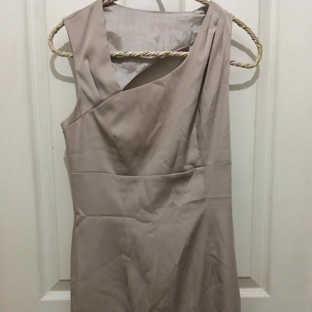 FOREVER 21 SILK DRESS