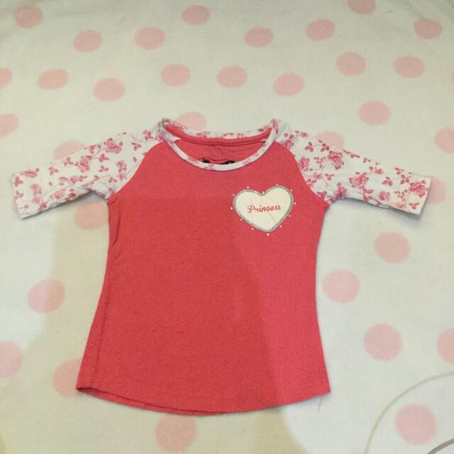 Girls Edition Princess Pink Shirt