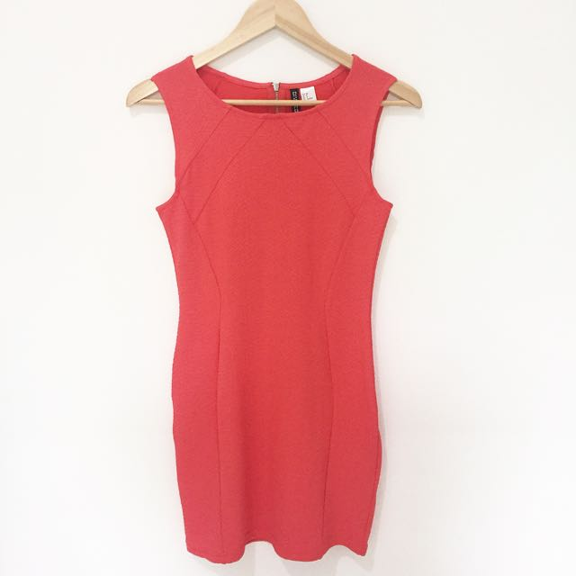 H&M Basic Red Dress