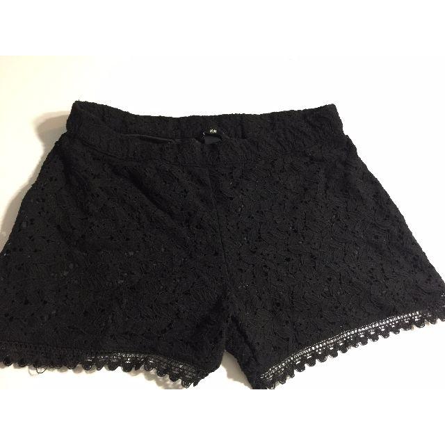 H&M Black Lace Shorts