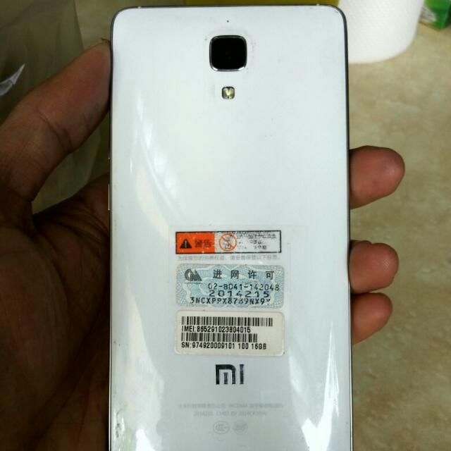 HP Xiaomi mi4w