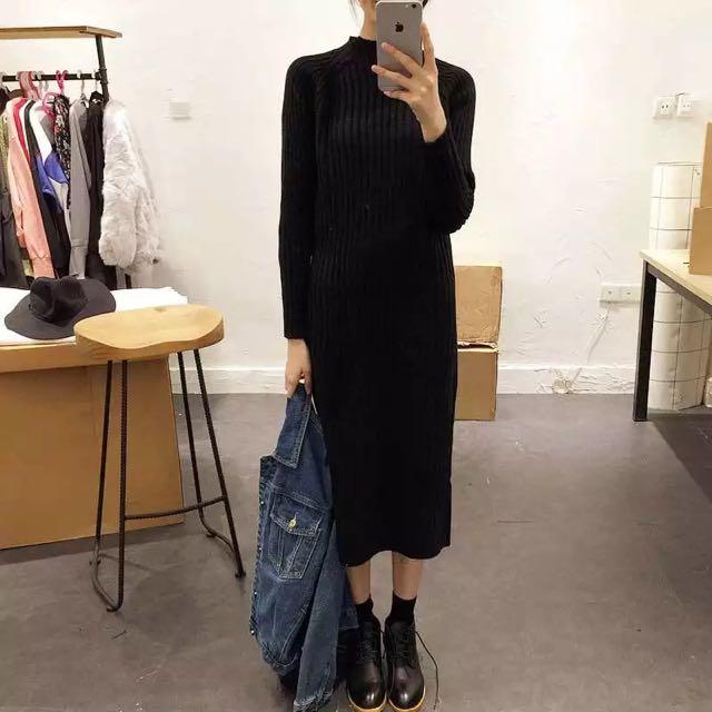 [Instock] Knit Dress