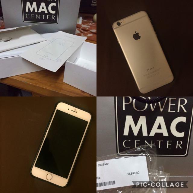 iPhone 6 16gb Silver