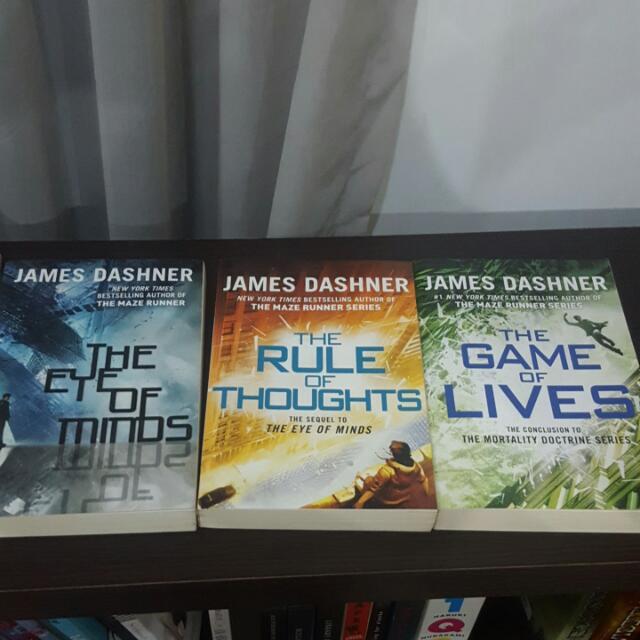 James Dashner Mortality Doctrine Series (All English)