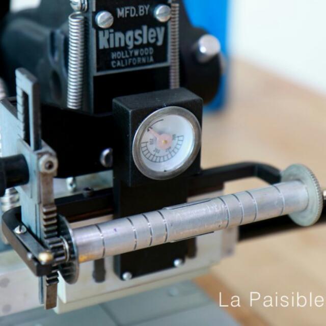 Kingsley Hot Stamping Machine