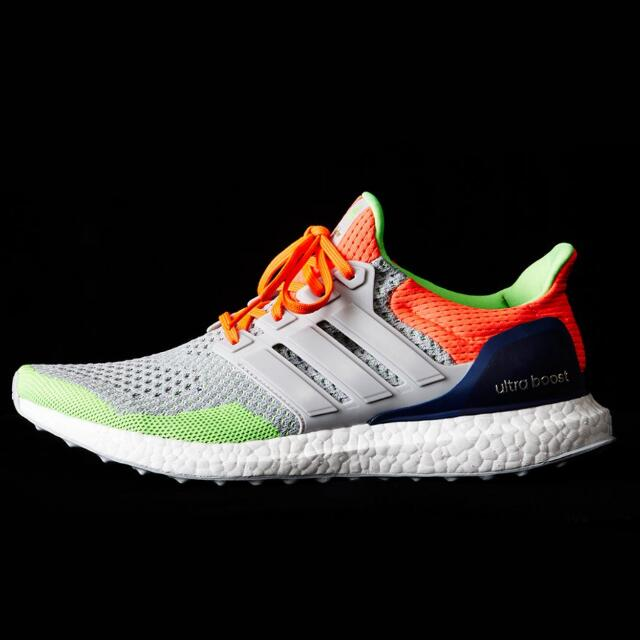 c9522cc20 Kolor X Adidas Ultra Boost  Solar Orange