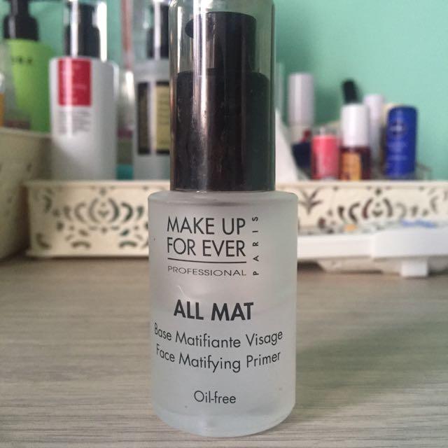 Make Up For Ever All Mat Primer
