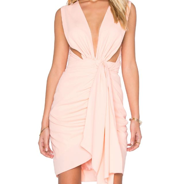 Maurie & Eve Quentin Dress- Peach Size 8