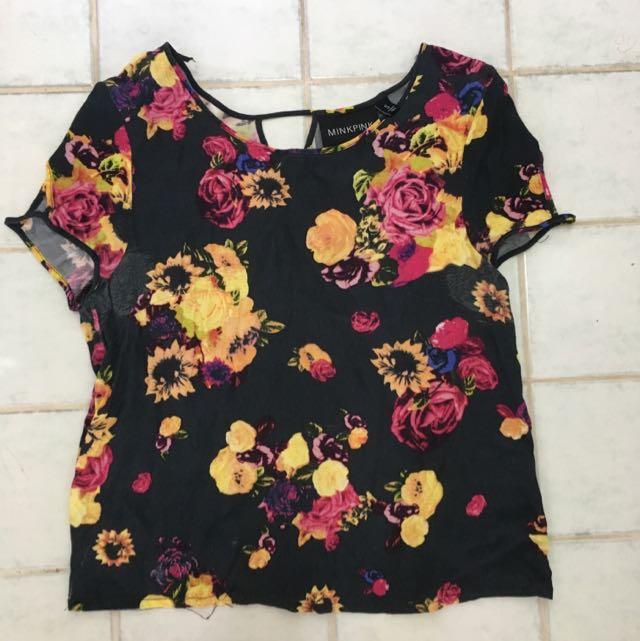 Minkpink Floral top