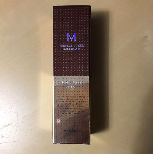 Missha Perfect Cover BBcream - 21