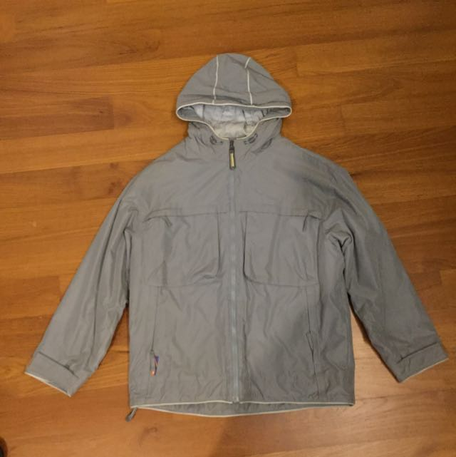 bb64ffd8651b Nike Jacket Windbreaker Size Small ( Grey Snow Winter Cold Hoodie ...