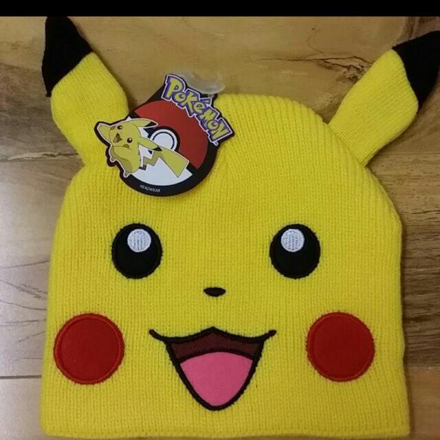 Pikachu Pokemon Cosplay Anime Beanie With Ears