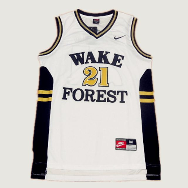 huge selection of 88818 a81a2 PO] NBA NCAA Wake Forest Tim Duncan Swingman Jersey ...