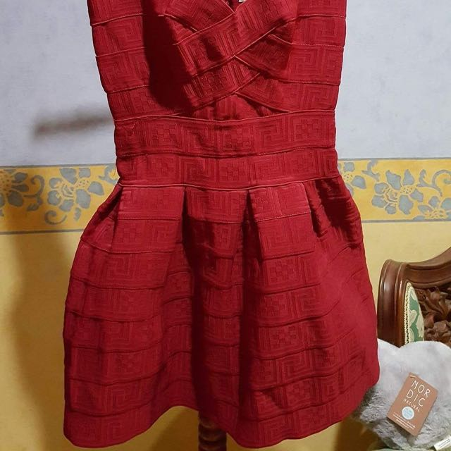 Red Dress-Size 8