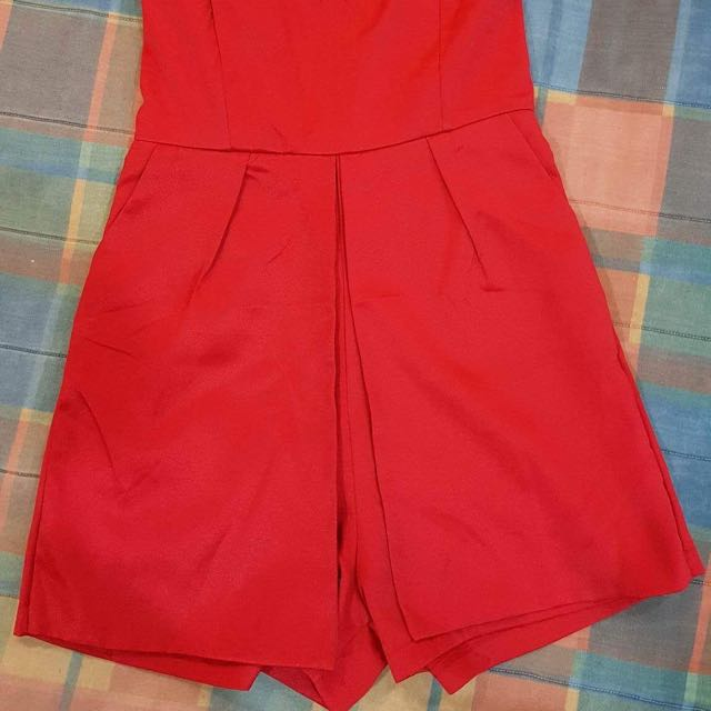Red Jumpsuit Size 6/8