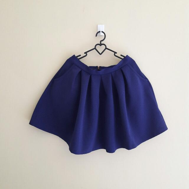 (REPRICE) NEW LOOK NAVY SKIRT