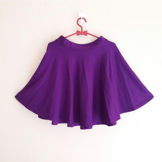 (REPRICE) PURPLE SKIRT