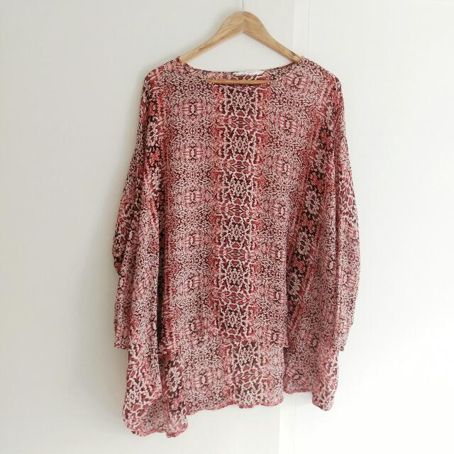 Seed Oversized Top Size S