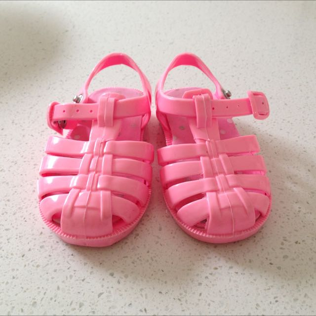 Seed Pink Jelly Sandals Size 22