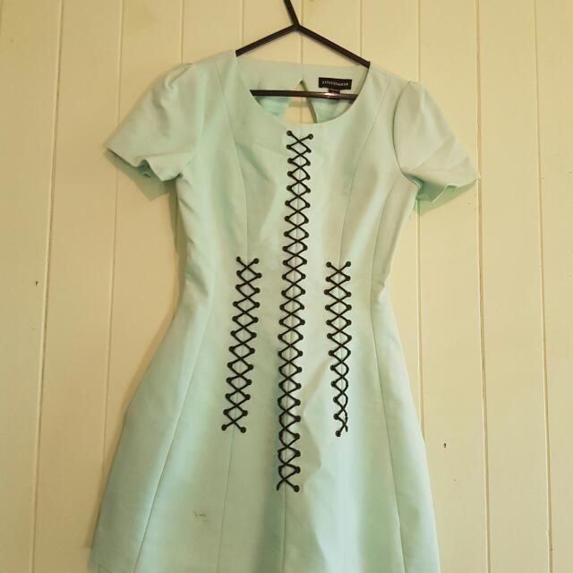 STYLESTALKER MINT GREEN DRESS