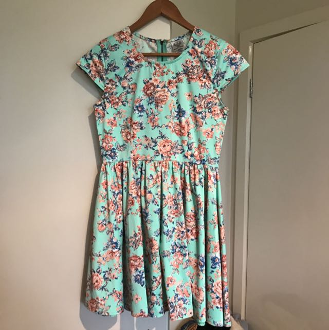 Summer Floral Mini Dress - 12