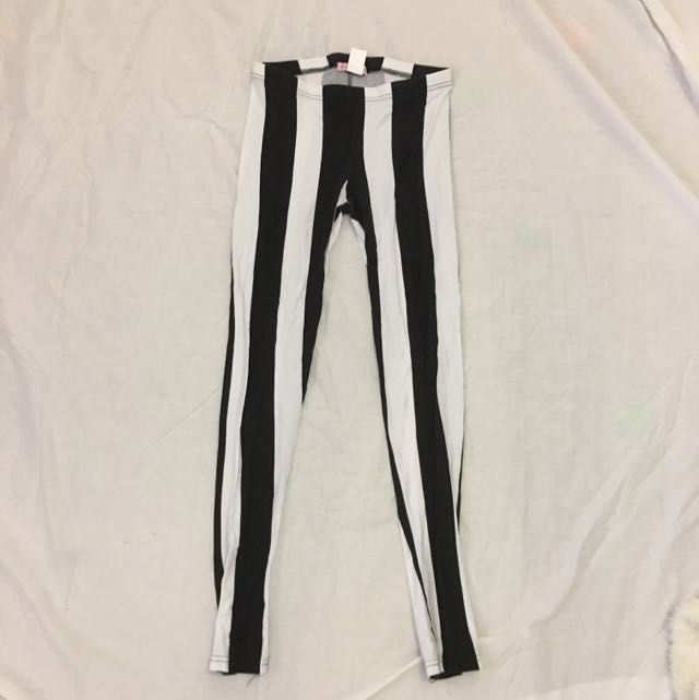 Supré Black And White Leggings