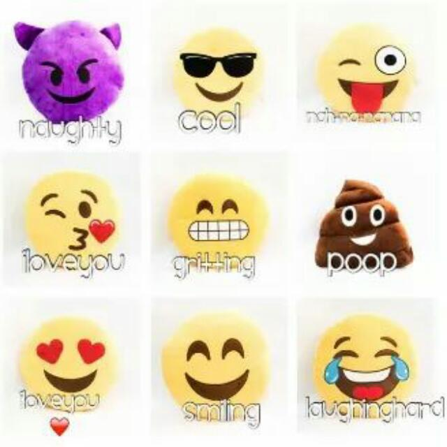 Talking EMOJI PILLOWS Or with Laughing Sounds
