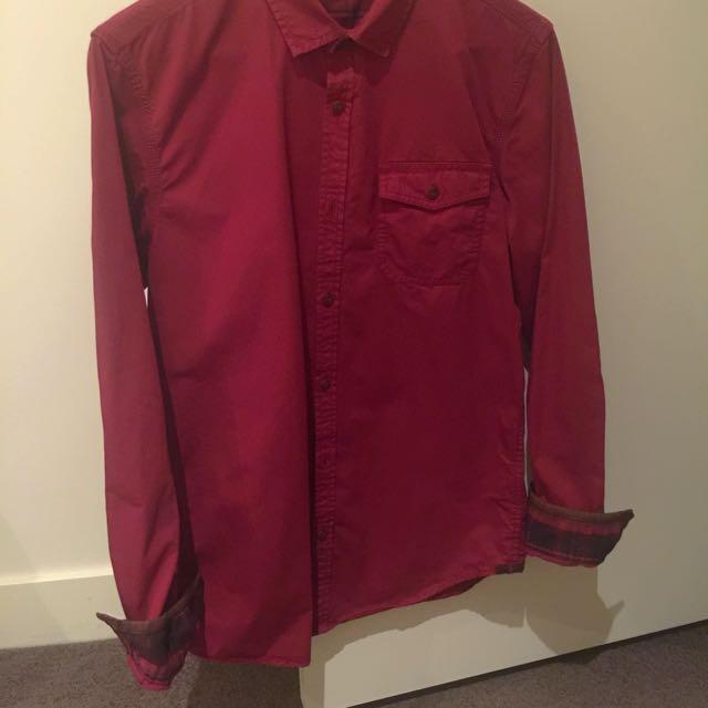 Ted Baker Shirt Size 3 (UK M)